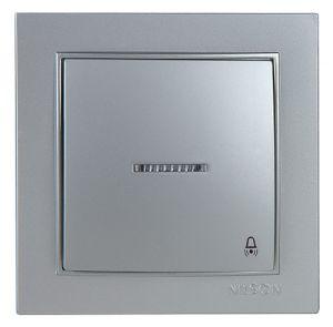 کلید زنگ با روشنایی ۱۲V