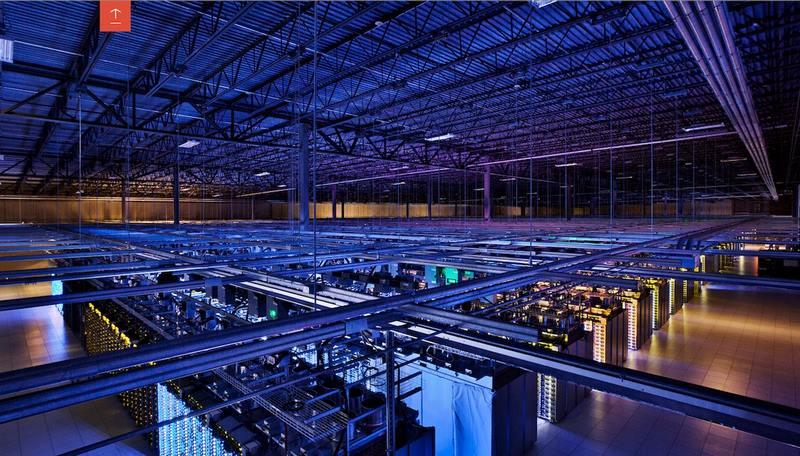 بزرگترین دیتا سنترهای دنیا,دیتا سنتر گوگل,دیتاسنتر های بزرگ دنیا,