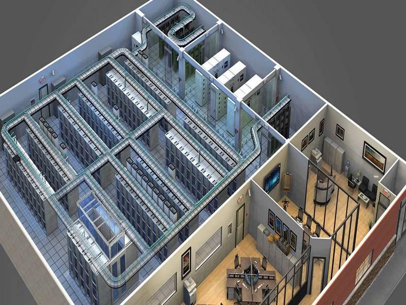 استاندارد اتاق سرور,استاندارد سازی اتاق سرور,استانداردهای اتاق سرور,