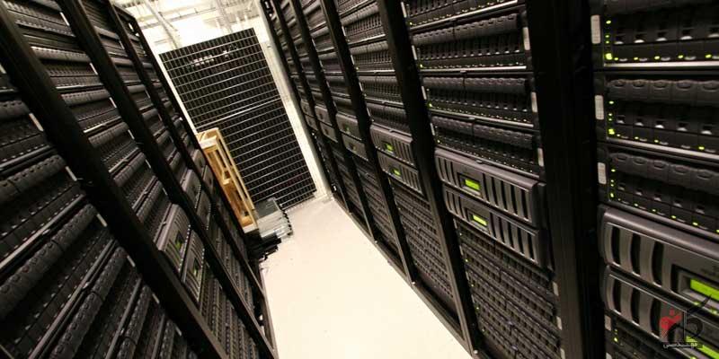 اتاق سرور,بزرگترین دیتاسنترهای جهان,تجهیزات فیبر نوری,