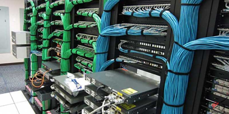 تجهیزات کابل کشی,سیستم کابل کشی,شبکههای کامپیوتری,