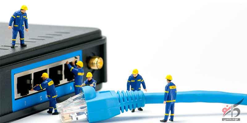 امنیت شبکه,انواع زیرساخت های شبکه,بررسی زیر ساخت شبکه های کامپیوتری,