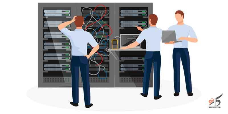 خدمات passive شبکه,خدمات پسیو شبکه,خدمات کابل کشی و برق کشی,