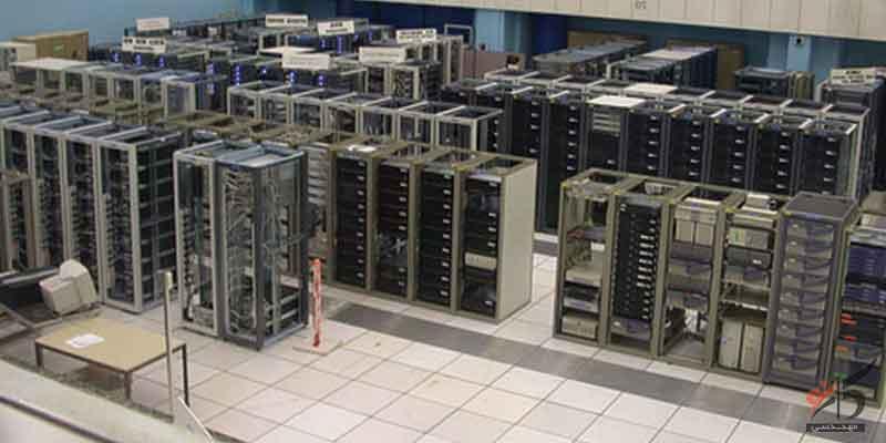 ایمنی اتاق سرور,برخورداری از سیستم برق پشتیبان,بررسی تجهیزات پسیو و اکتیو شبکه,